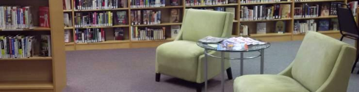 Two chairs in the SDG Library