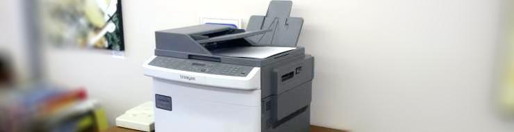 Printer at the library